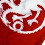 Targaryen Sigil on my Moo Facebook card